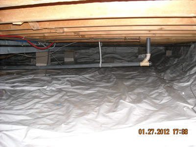 Crawlspace-Liner - After