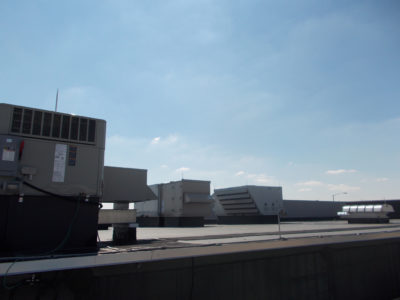 Rooftop HVAC Equipment Cleaning