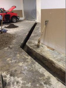 Underground Vapor Intrusion System Piping